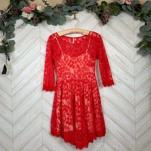 Free People Lace Dress Size 0